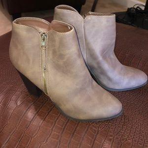 Charlotte Russe booties! Worn once!